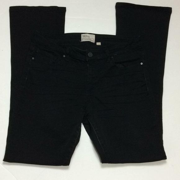 BKE Payton Tailored Bootcut Black Jeans Sz 30